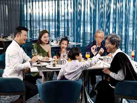 银卡臻享餐厅