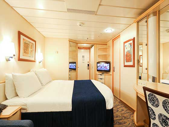 船中/標準家庭內艙房 1V/3V