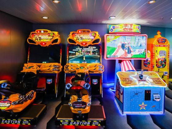 兒童電子游戲室