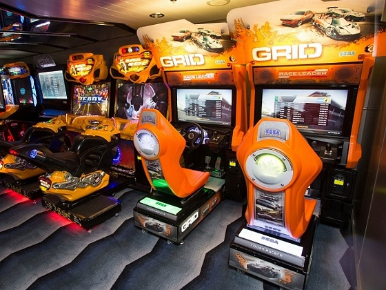 儿童电子游戏室